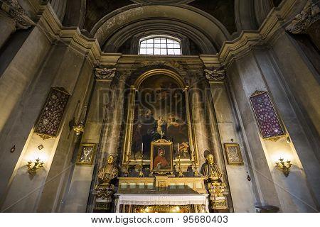 Sant Ignazio Church, Rome, Italy