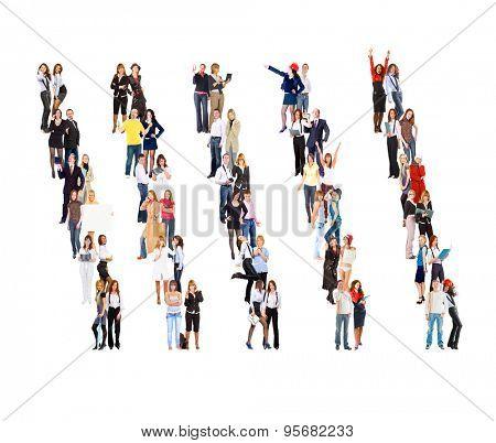 People Diversity Clerks Compilation