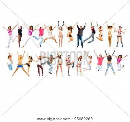 Success Concept People Celebrating