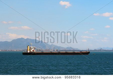 General cargo ship with 7 holds