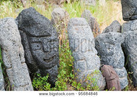 Lava Stone Sculptures