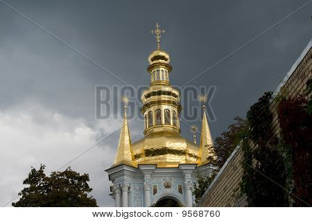 Orthodox Churh On Territory Of Kiyv-pechersk Lavra