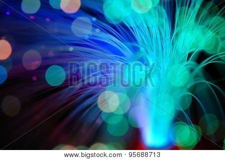 Bokeh  Particles