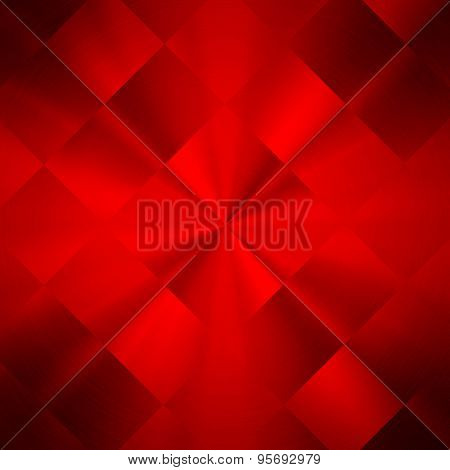 red abstract metal background