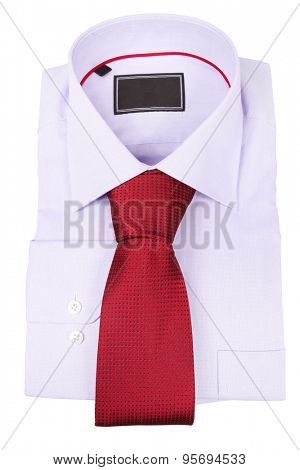 shirt isolated under the white background