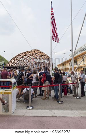 Malaysia Pavilion At Expo 2015 In Milan, Italy