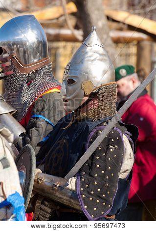 Armed Medieval Knight