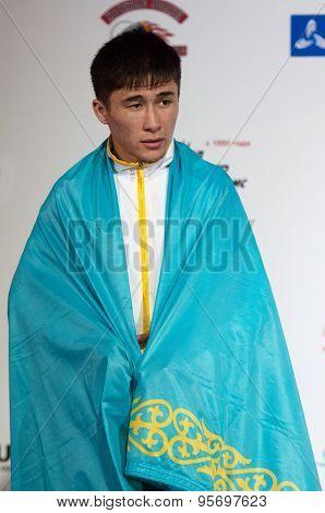 Kazbek Sagyn, Silver Medalist