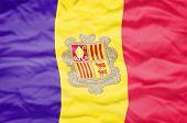 Постер, плакат: Andorra flag