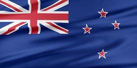 image of flags world  - New Zealand Flag - JPG