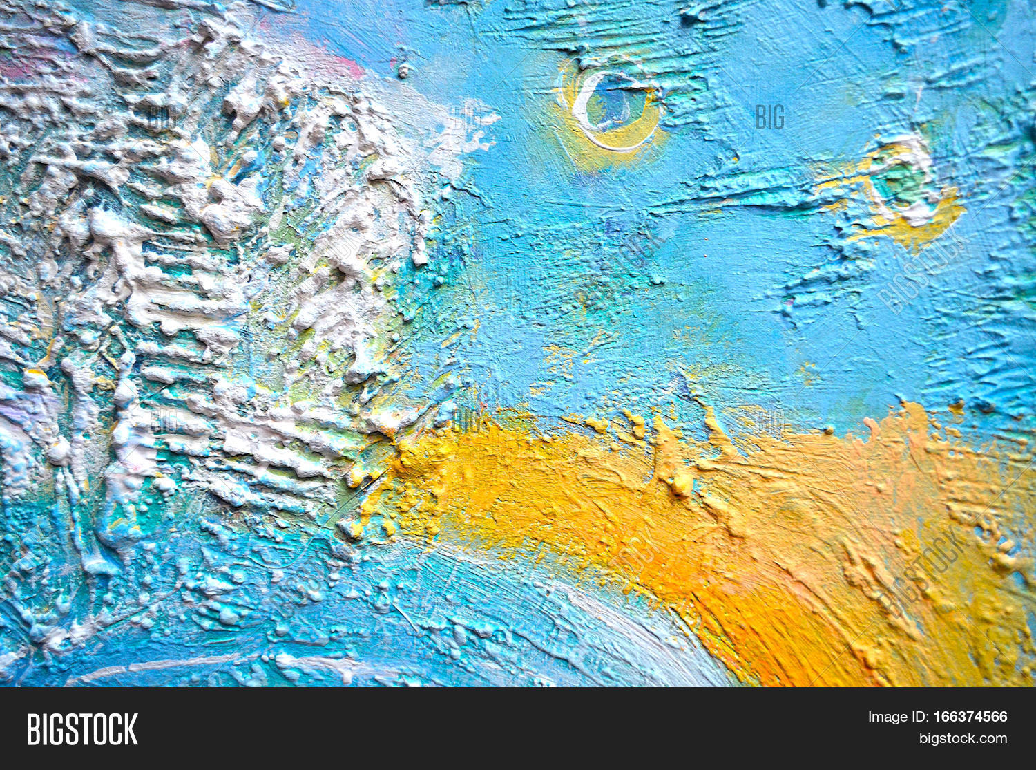Textured painting abstract painting creative abstract hand for Textured acrylic abstract paintings
