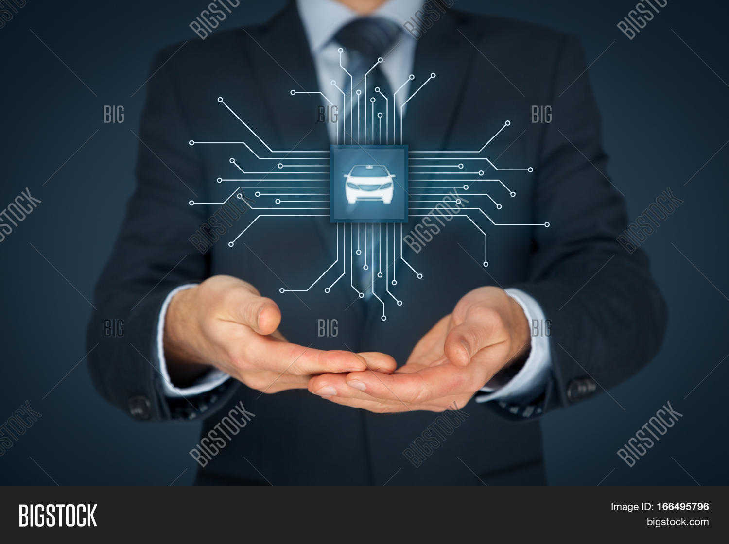 Intelligent car intelligent image photo bigstock intelligent car intelligent vehicle and smart cars concept symbol of the car and wireless biocorpaavc Choice Image