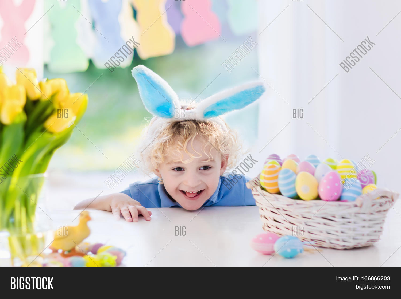 funny little boy bunny ears image u0026 photo bigstock