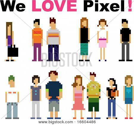 pixel peoples
