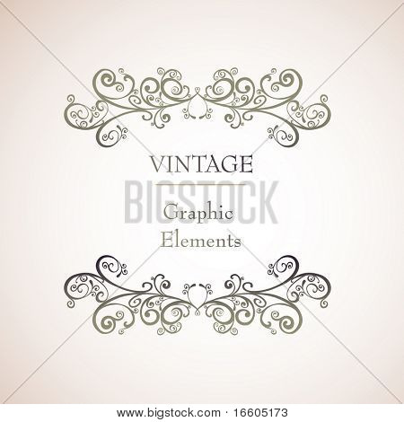 simple vintage background