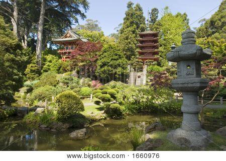 Lantern Of Peace And Pagoda