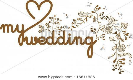 my wedding card template