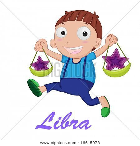 Libra star sign from series 1