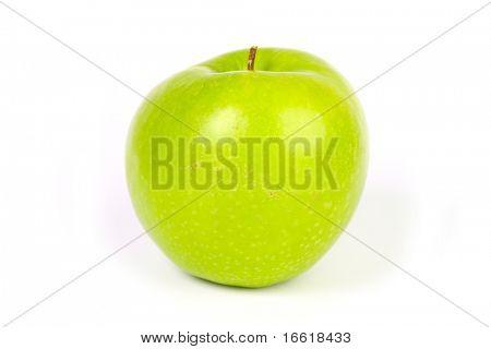 a photo of an apple