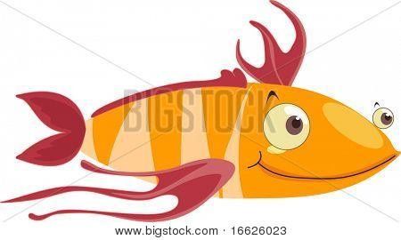 funny fish (vector image available in portfolio)