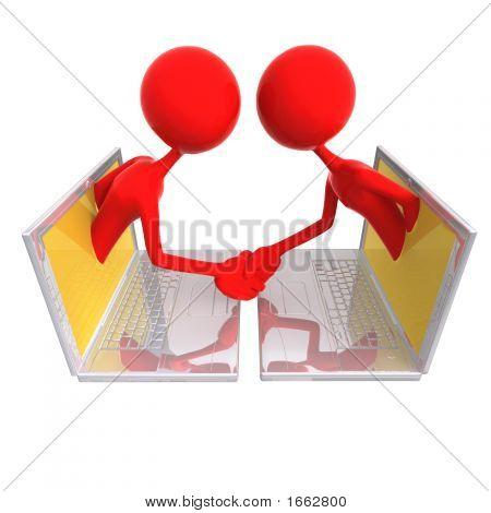 Online Deal Handshake