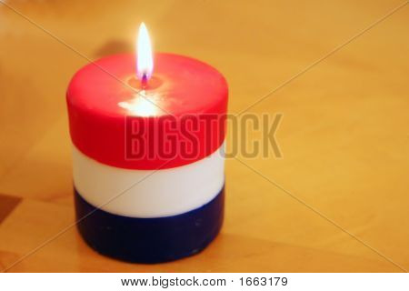 Fourth Of July Candle