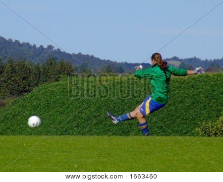 Woman Goalkeeper #2