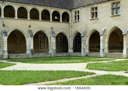 Brou Royal Monastery Cloister