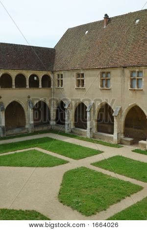 Cloister In  Brou Royal Monastery