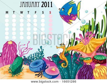 ilustração de um calendário em um fundo branco