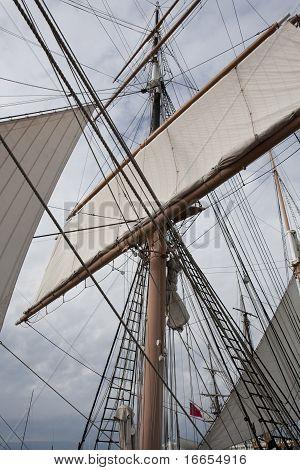Star Of India, Mast And Sail