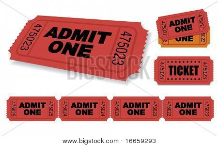 Admitir un sistema de Ticket de Vector