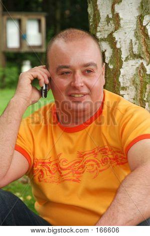 Phoning Man.