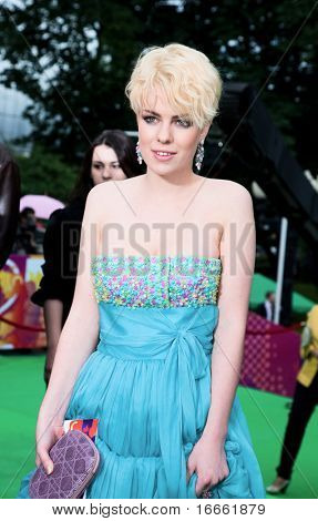 MOSCOW - JUNE,17: Russian actress Anna Starshenbaum. Opening Ceremony Of 32st Moscow International Film Festival at Pushkinsky Cinema . June 17, 2010 in Moscow, Russia.