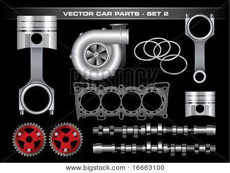 Vector Car Parts-Set 2
