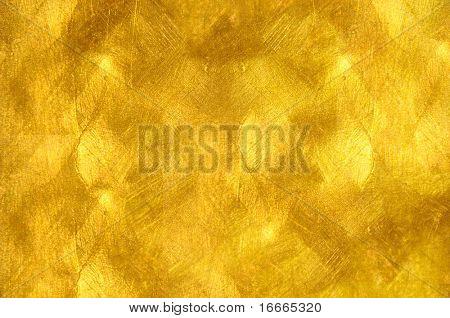 schöne fein gebürstetem golden Textur