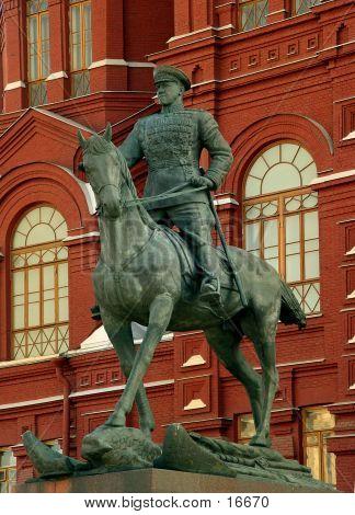 Marshal Zhukov's Statue