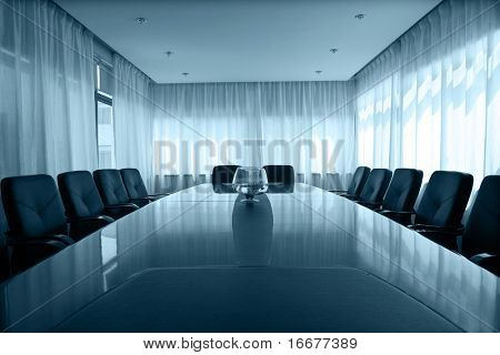 meeting room with  aquarium