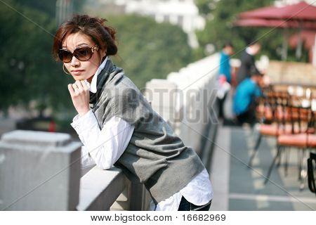 young asian women