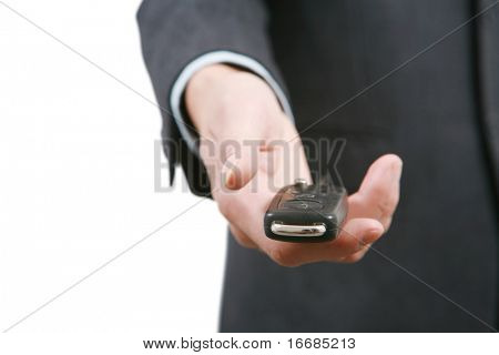 give key for car