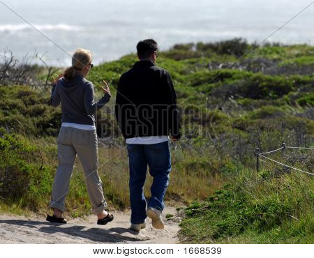 A Stroll To The Sea