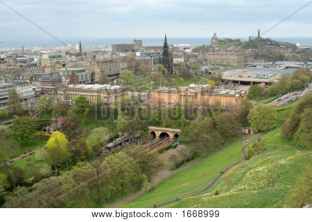 Edinburgh From The Castle (3)