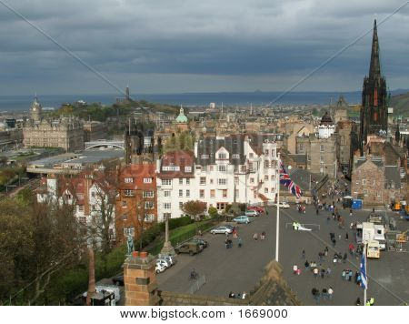 Edinburgh From The Castle (2)