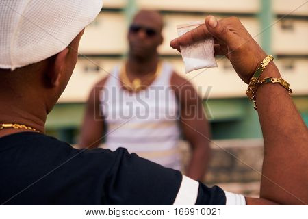 poster of Gang Members Meeting For Selling And Buying Drugs And Narcotics