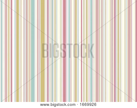 Soft  Pastel Pink Vintage Stripes