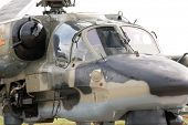 pic of afterburner  - Cockpit Of A Military Helicopter - JPG