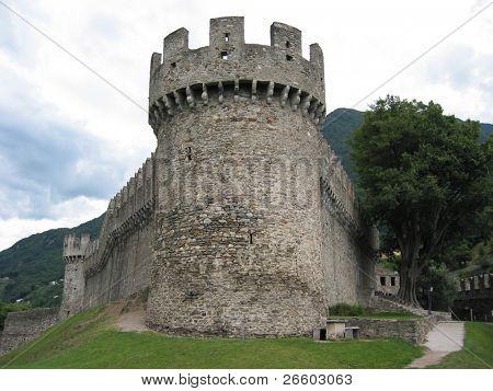 Ancient fortifications in Bellinzona