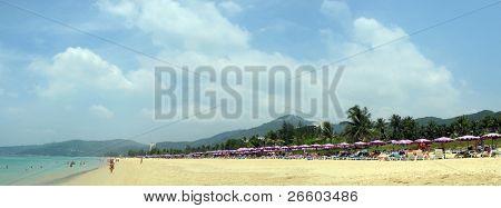 Karon beach of Phuket island