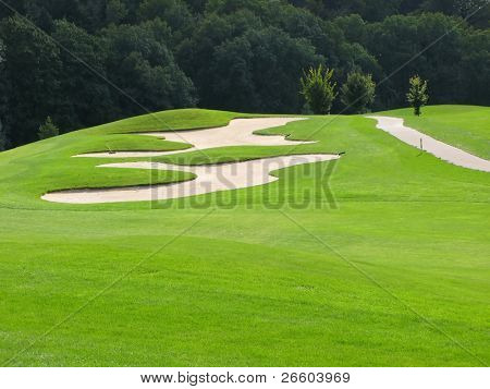 Golf course, Switzerland
