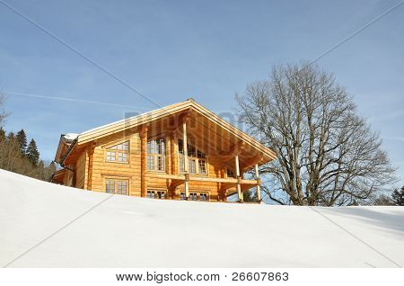 Swiss holiday cottage